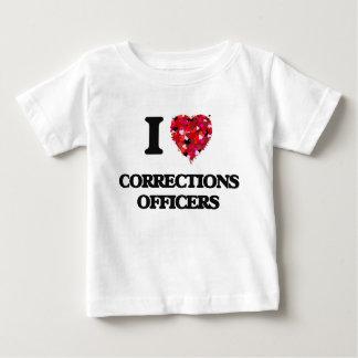 Amo a oficiales de correcciones poleras