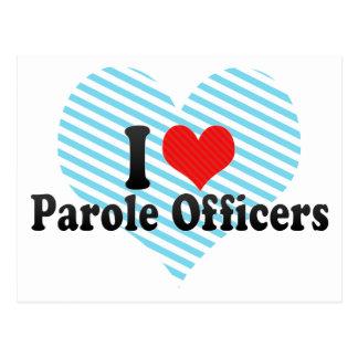 Amo a oficiales de libertad condicional postales