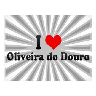 Amo a Oliveira hago el Duero, Portugal Tarjeta Postal