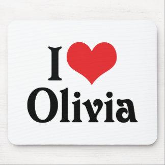 Amo a Olivia Alfombrilla De Raton