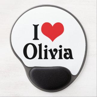 Amo a Olivia Alfombrillas Con Gel