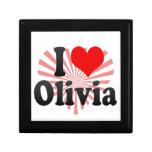 Amo a Olivia Cajas De Joyas