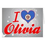 Amo a Olivia, Minnesota Felicitacion