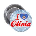Amo a Olivia, Minnesota Pins