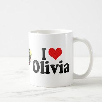 Amo a Olivia Tazas De Café