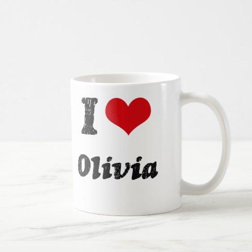Amo a Olivia Taza Clásica