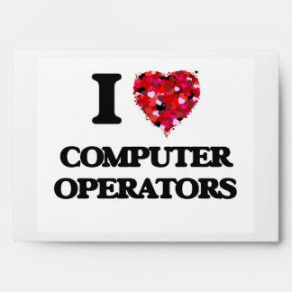 Amo a operadores sobre