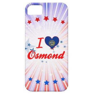 Amo a Osmond, Nebraska iPhone 5 Case-Mate Carcasa