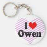 Amo a Owen Llaveros