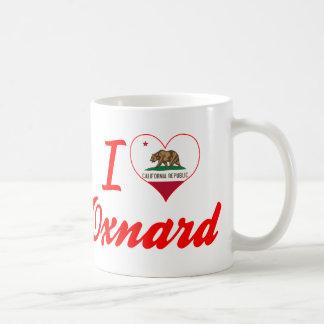 Amo a Oxnard, California Taza Básica Blanca