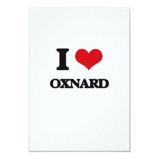 """Amo a Oxnard Invitación 3.5"""" X 5"""""""