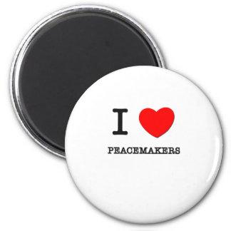 Amo a pacificadores iman para frigorífico