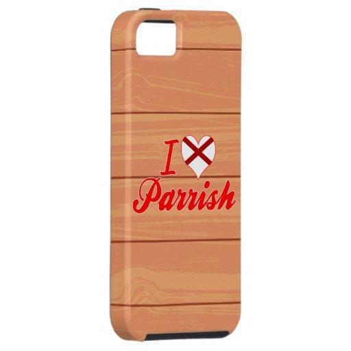Amo a Parrish, Alabama iPhone 5 Case-Mate Carcasa