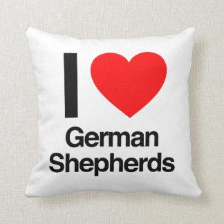 amo a pastores alemanes almohada