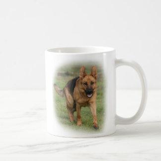Amo a pastores alemanes tazas de café