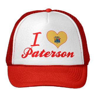 Amo a Paterson, New Jersey Gorros Bordados