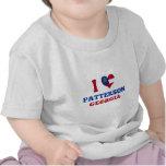 Amo a Patterson, Georgia Camisetas