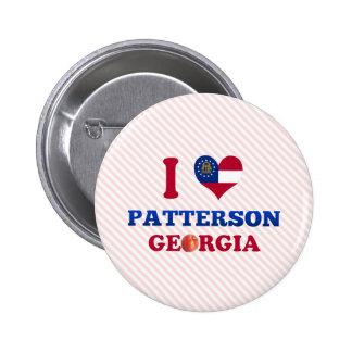 Amo a Patterson Georgia Pin