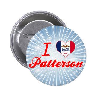 Amo a Patterson Iowa Pin