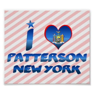 Amo a Patterson, Nueva York Posters