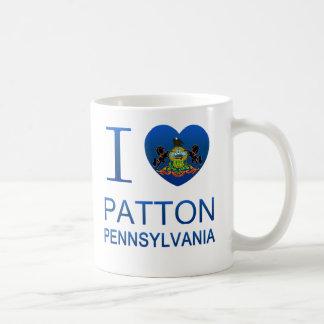 Amo a Patton, PA Taza