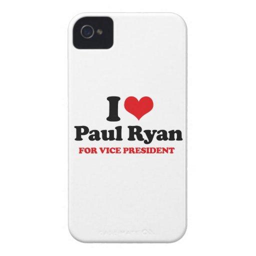 AMO A PAUL RYAN PARA EL VICEPRESIDENTE .PNG iPhone 4 Case-Mate CARCASA