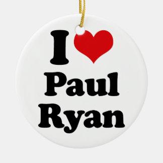 AMO a PAUL RYAN png Ornamento De Navidad