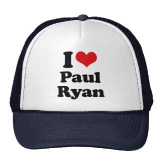 AMO a PAUL RYAN.png Gorros Bordados