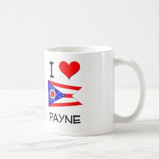 Amo a Payne Ohio Taza