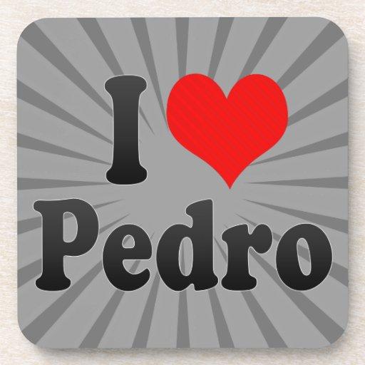 Amo a Pedro Posavasos