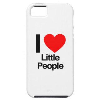 amo a pequeña gente iPhone 5 carcasa