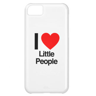 amo a pequeña gente funda para iPhone 5C