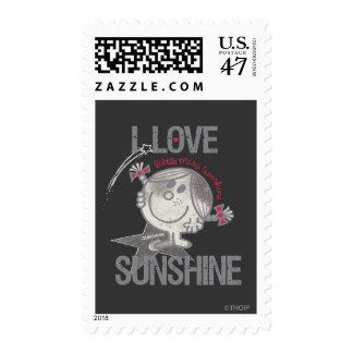 Amo a pequeña Srta. Sunshine Sellos Postales
