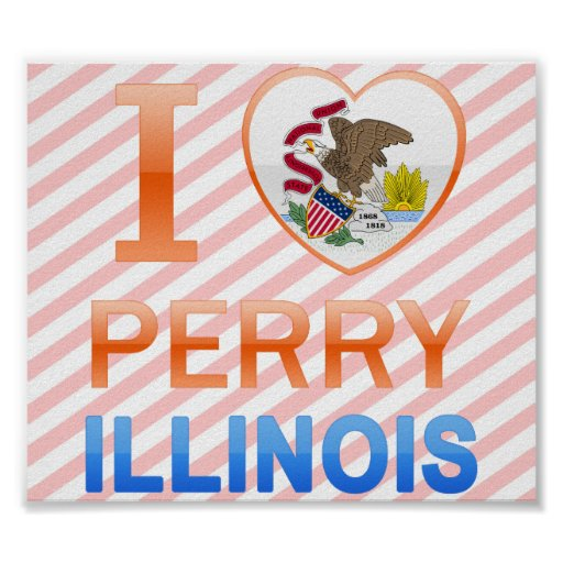 Amo a Perry, IL Poster