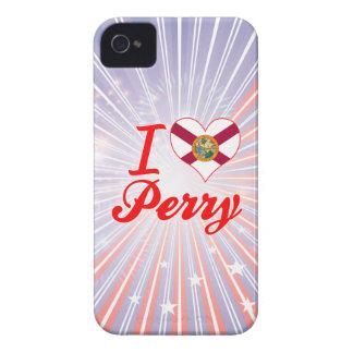 Amo a Perry la Florida iPhone 4 Carcasas