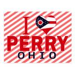 Amo a Perry, Ohio Tarjetas Postales