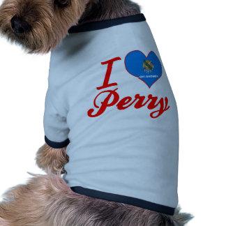 Amo a Perry, Oklahoma Camisa De Mascota