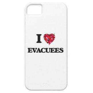 Amo a PERSONAS EVACUADAS Funda Para iPhone 5 Barely There
