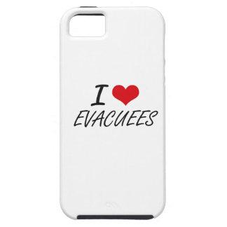 Amo a PERSONAS EVACUADAS iPhone 5 Funda