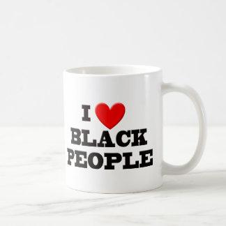 Amo a personas negras taza