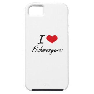Amo a pescaderos iPhone 5 fundas