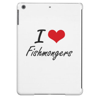 Amo a pescaderos funda para iPad air