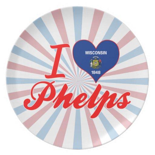 Amo a Phelps, Wisconsin Plato Para Fiesta