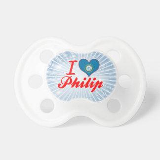 Amo a Philip Dakota del Sur Chupetes