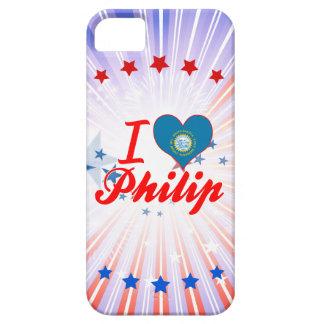 Amo a Philip Dakota del Sur iPhone 5 Cobertura