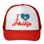 Amo a Philip, Dakota del Sur Gorro De Camionero
