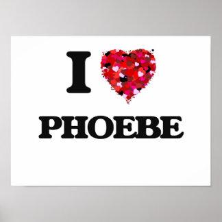 Amo a Phoebe Póster