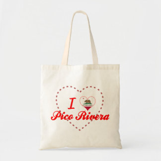 Amo a Pico Rivera, California Bolsa De Mano