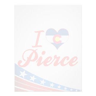 Amo a Pierce, Colorado Plantilla De Membrete