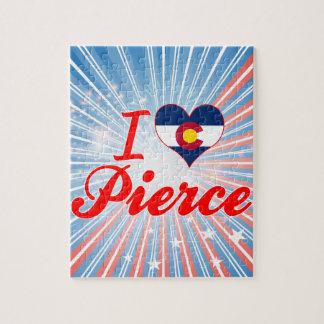 Amo a Pierce, Colorado Puzzles Con Fotos